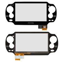 Сенсорный экран для игровой приставки Sony PSP 1000 Vita, черный