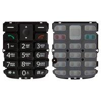 Клавиатура для мобильного телефона Fly Ezzy 6, original, черная, русская, #3.08.00216.00XR
