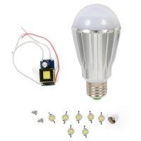 Комплект для сборки светодиодной лампы SQ-Q17 7 Вт (холодный белый, E27)