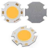 COB LED модуль 5 Вт (теплый белый, 450 лм, 20 мм, 300 мА, 15-17 В)