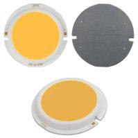 COB LED модуль 7 Вт (теплый белый, 450 лм, 43 мм, 300 мА, 15-17 В)