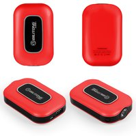 Power bank Bilitong Y025, 8400 мАч, USB-выход 5В 1A/2,1A, 95*61*24,5 мм, красный