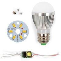 Комплект для сборки лампы, SQ-Q01, 5730 , 3 Вт, E27, WW (теплый)