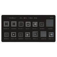 BGA-трафарет A414, 8800S3B/8800S4/ MTK6238HV/MTK6513V/ MTK6515A/6800HI/8800G2/ MTK6513TMV/6800H3/ MTK6515MA/MTK6516SA
