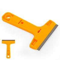 Cкребок для снятия клея K-501, с лезвием, лопатка