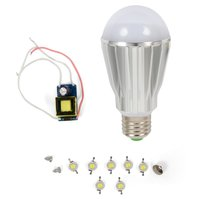 Комплект для сборки светодиодной лампы SQ-Q17 7 Вт (натуральный белый, E27)