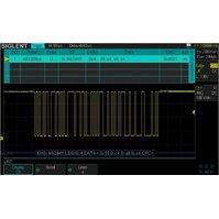 Программное обеспечение SIGLENT SDS-2000X-DC для декодирования IIC, SPI, UART/RS232, CAN, LIN