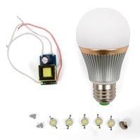 Комплект для сборки светодиодной лампы SQ-Q22 5 Вт (природный белый, E27)