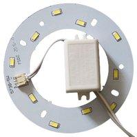 Комплект для сборки светодиодного светильника 6 Вт (естественный белый, круглый, 4000-4500 К)