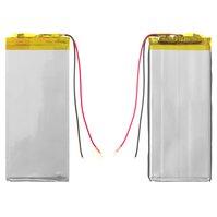 Аккумулятор для электронных книг China, 89 мм, 39 мм, 2,4 мм, Li-ion, 3,7 В, 900 мАч
