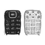 Keyboard for Nokia 6131 Cell Phone, (black, russian)