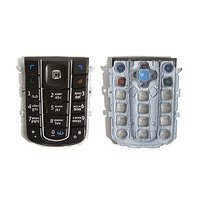 Keyboard for Nokia 6230i Cell Phone, (black, russian)