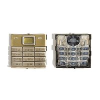 Keyboard for Nokia 8800 Sirocco Cell Phone, (golden, russian)