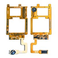 Flat Cable for Samsung S500 Cell Phone, (for mainboard, with components)