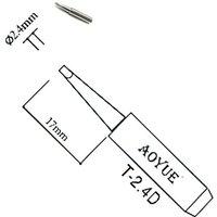 AOYUE T-1.5CF Soldering Iron Tip Bevel Type AOYUE ATTEN Lukey Pro/'sKit Stations