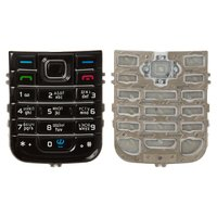 Keyboard for Nokia 6233 Cell Phone, (black, russian)