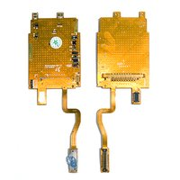 Flat Cable for Samsung X650 Cell Phone, (for mainboard, with components, 33 pin)
