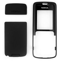 Housing for Nokia 3110c Cell Phone, (black, high copy, front and back panel)