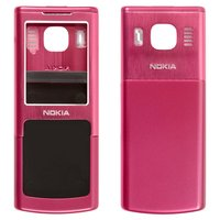 Housing for Nokia 6500c Cell Phone, (red, high copy)