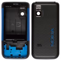 Housing for Nokia 5610 Cell Phone, (dark blue, high copy)
