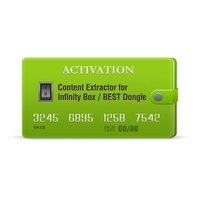 Content Extractor Activation for Infinity-Box/Dongle, BEST Dongle