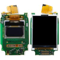LCD for Fly M130 Cell Phone, (original, complete)