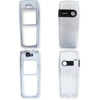 Housing for Nokia 6230 Cell Phone, (silver, high copy)