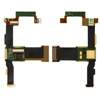 Flat Cable for Sony Ericsson X1 Cell Phone, (for mainboard, speaker, with components)