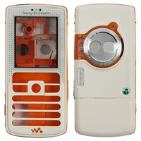Housing for Sony Ericsson W800 Cell Phone, (white, high copy)