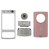 Housing for Nokia N95 2Gb Cell Phone, (pink, high copy, with keyboard)
