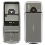 Housing compatible with Nokia 6700c, (High Copy, silver)>