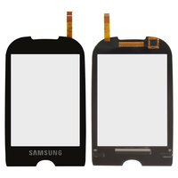 Touchscreen for Samsung S3650 Cell Phone, (black)