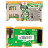 SIM Card Connector for Sony Ericsson S302, W302 Cell Phones, (memory card connector)