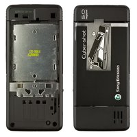 Housing for Sony Ericsson C902 Cell Phone, (black, high copy)