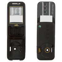 Housing for Sony Ericsson W850 Cell Phone, (black, high copy)