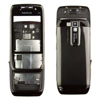 Housing for Nokia E66 Cell Phone, (black, high copy)