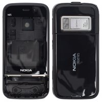 Housing for Nokia N85 Cell Phone, (black, high copy)