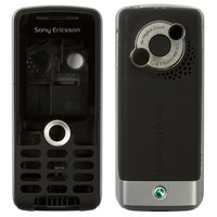 Housing for Sony Ericsson K510 Cell Phone, (black, high copy)