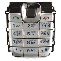 Keyboard for Nokia 2610 Cell Phone, (silver, russian)