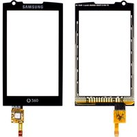 Touchscreen for Samsung I6410 Cell Phone, (black)