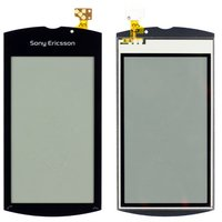 Touchscreen for Sony Ericsson U8 Cell Phone, (black)