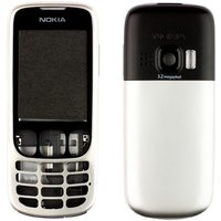 Housing for Nokia 6303, 6303i Cell Phones, (silver, high copy)