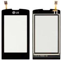 Touchscreen for LG GW520 Cell Phone, (black)