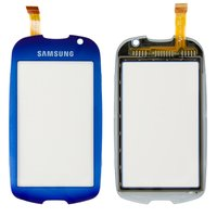 Touchscreen for Samsung S7550 Cell Phone, (dark blue)