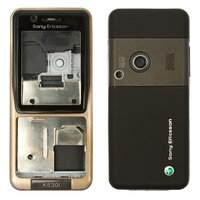Housing for Sony Ericsson K530 Cell Phone, (bronze, high copy)