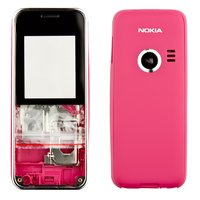 Housing for Nokia 3500c Cell Phone, (red, high copy)
