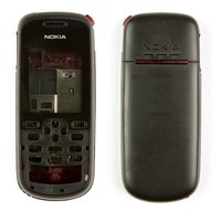 Housing for Nokia 1661 Cell Phone, (black, high copy, full set)