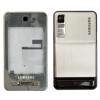 Housing for Samsung F480 Cell Phone, (grey, high copy)