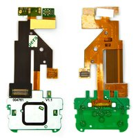 Flat Cable for Nokia 5610 Cell Phone, (copy, for mainboard, with components, without camera, with upper keypad module)