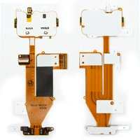 Flat Cable for Nokia 6700s Cell Phone, (for mainboard, with camera, with components, with upper keypad module)